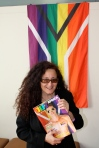Melanie Nathan via gay flag of south africa