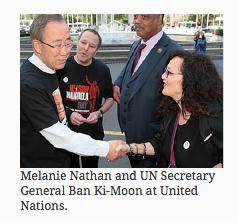 Ban Ki Moon Melanie Nathan