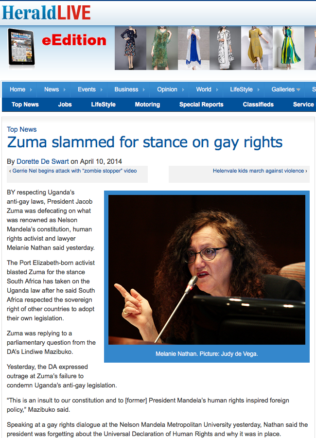 http://www.heraldlive.co.za/zuma-slammed-for-stance-on-gay-rights/