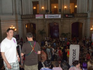 SFPride VIP Party in City Hall