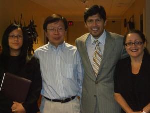 Gina Capiro, Amos Lim, Assembly Member Kevin de Leon, Melanie Nathan