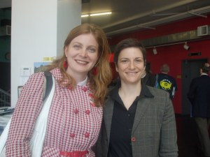 Attended by Molly McKay of Marriage Equality and Alice Kessler, EQCA
