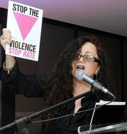 "Melanie Nathan speaking at Cape Town Pride 2011 about so called ""corrective"" rape against lesbians."