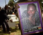 Funeral of murdered Ugandan Gay Activist, David Kato 2011