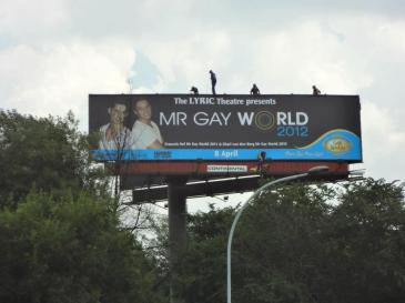 Mr GASA World Bill board