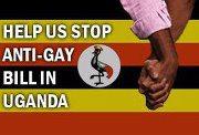 uganda image hands flag