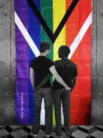The Gay Flag of South Africa Photo taken on Freedom Day