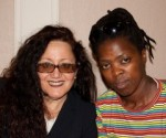 Melanie Nathan and Zanele Muholi