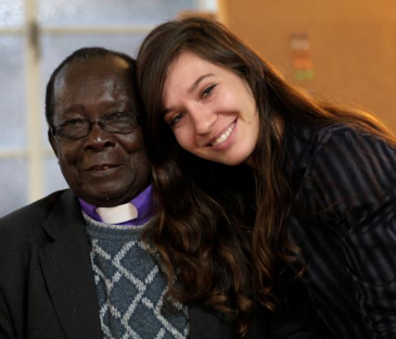 kristi and Bishop Christopher Sonjonyo