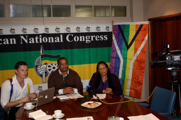 Photo: Eugene Brockman, GFSA Conference with ANC