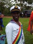 Frank Mugishu at Ugandan Gay Pride this Month, Defying fear of persecution