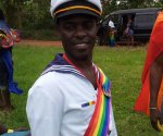Frank Mugishu at Ugandan Gay Pride this Month, Defying fear of persecution