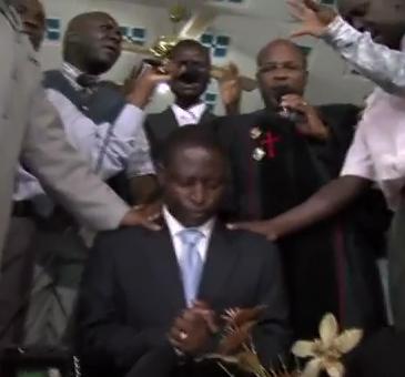 Kidanga , Ssempa and Preachers Praying over Kill The Gays Bahati