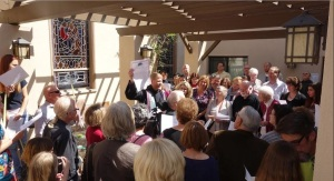 Members and Friends of KCC rallying for equal rights. Have faith that our prayers are answered.