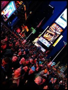 Times Square candlelight vigil