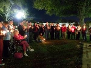 Lighting the Way in Tuscaloosa, AL - ROLL TIDE!