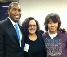 HC and Mom, Melanie Tony West Acting Attorney General from Obama Administration.