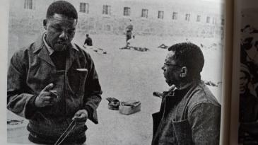 Mandela on Robben ISland