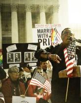 C.D. Kirven Speaking in D.C. at SCOTUS Rally