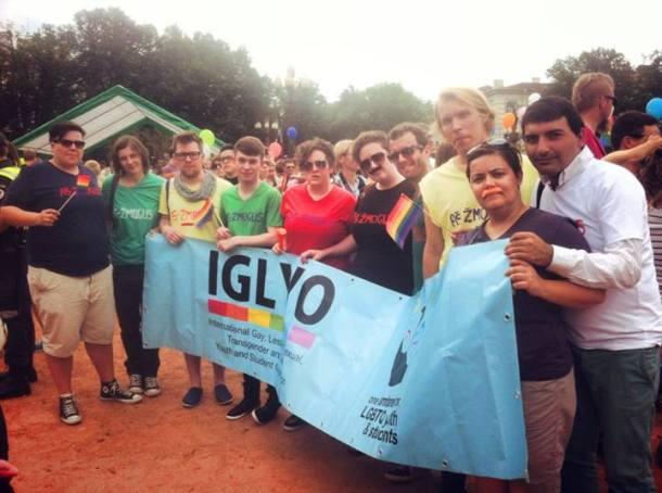 IGLYO Team IGLYO after successful and safe Baltic Pride. Happy Pride Vilnius!