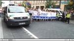 Screen capture of Delfi's live stream.  Parade start.