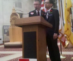 Thom and Jeff before the demise of Prop 8 could not marry. Photo by Melanie Nathan