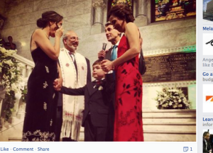 The first Minnesota couple to marry and their son - Williams Insitute Statistics