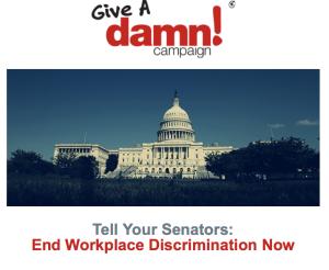 Cyndi Lauper -Give A Damn Campaigm - Fund Raising- ENDA