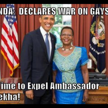 PRESIDENT OBAMA CAN YOU PLEASE TALK TO MADAM AMBASSADOR