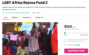 https://www.indiegogo.com/projects/lgbt-africa-rescue-fund-2/x/532915#home