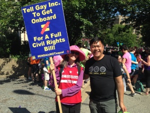 Ben de Guzman of Nat'l Queer Asian Pacific Islander Alliance