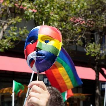 mel pride mask
