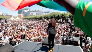 mel pride stage
