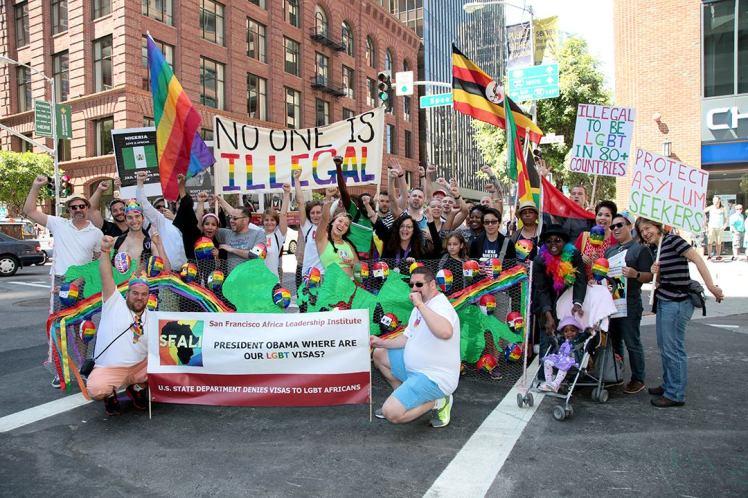 Mels group at Pride