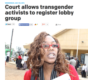 Kenya Transgender NGO Case
