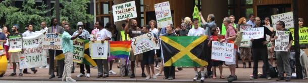 jamaica protest nyc