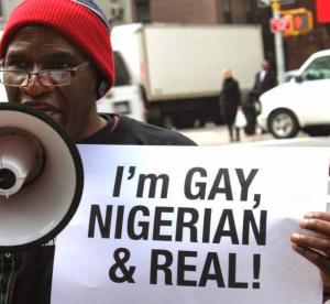 LGBTI Protests the Nigerian  Jail The Gays Bill