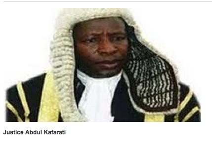 Justice Abdu Kafarati,  Nigeria