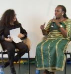 Hon Sempala talking at SFALI Forum