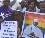 The Gambia London Embassy protests |OUT PROUD DIAMOND GROUP | Gays in Exile in London