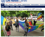 United Nations Resolution to support Human Rights for LGBT