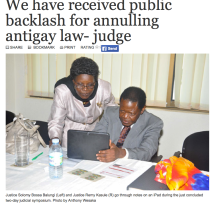 Anti-homosexuality Judges Symposium