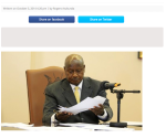 Yoweri Museveni Changes his mind on Anti-Homosexuality Law?