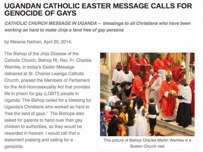 Catholic Bishops, Uganda, Pope Francis