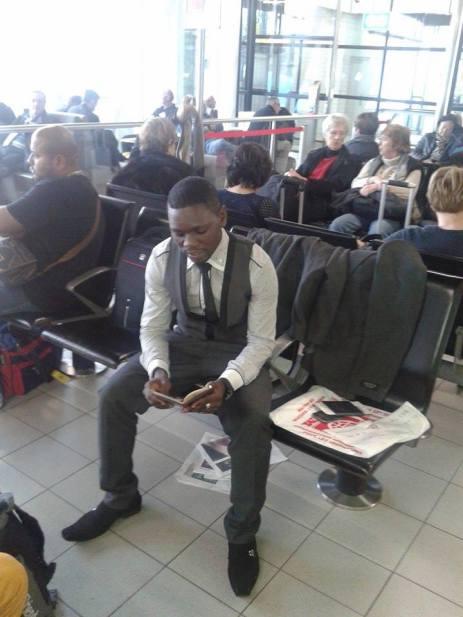 Airport Joseph and Rashid