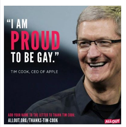 ALL OUT Tim Cook Meme