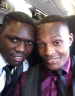 Ugandan Gay couple Joseph Kayizzi and Rashid