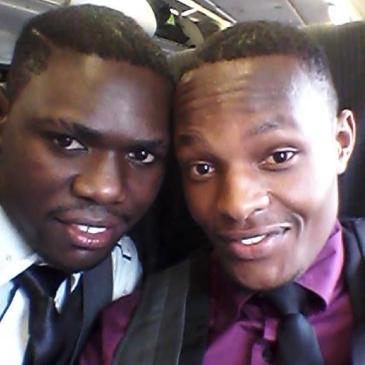 Ugandan Gay couple Joseph Kayizzi and Rashid