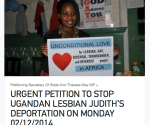 Do Not Deport Judith Petition