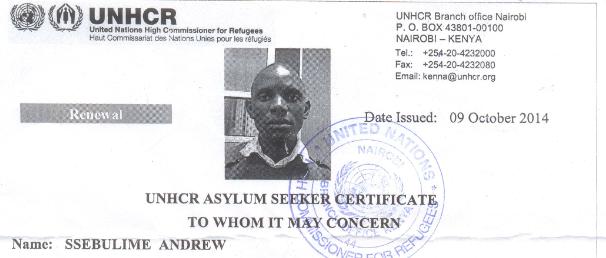 UNHCR ANDREW
